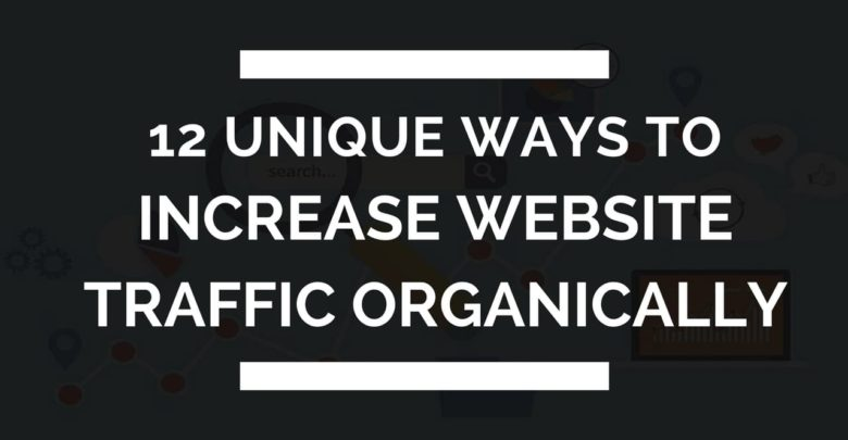 increase website traffic organically
