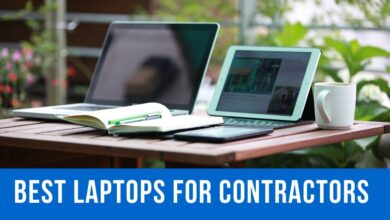Best laptops for contractors in 2020